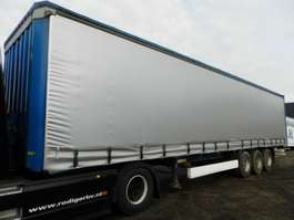 sliding curtain semi trailer Krone 3-assige oplegger 2008