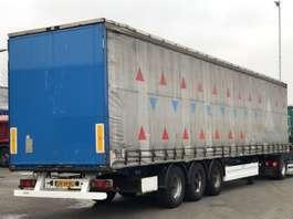 sliding curtain semi trailer Krone SCHUIFZEIL / BPW-ASSEN 2002