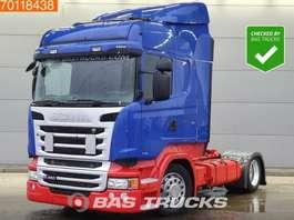 mega-volume tractorhead Scania R450 4X2 Mega Retarder 2x Tanks Euro 6 2014