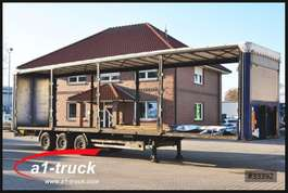 flatbed semi trailer Kögel SN 24, Megatrailer, 1 Vorbesitzer, Multilockrahmen 2006