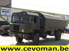 tilt semi trailer Saurer 6DM 4x4 Huifwagen / Baché 1984