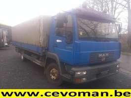tilt semi trailer MAN LE 8.225 2002