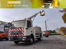 mounted boom lift truck MAN TGL 12.180 Hoogwerker Palfinger Bison TKA17 2006