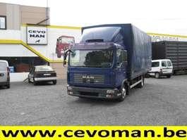 tilt semi trailer MAN TGL 7.150 Baché 2008