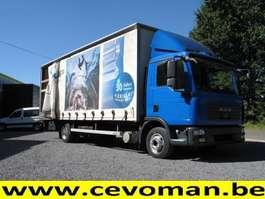 sliding curtain truck MAN TGL 12.210 2008