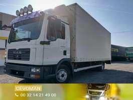 closed box truck MAN TGL 12.210 Automaat euro4 2008