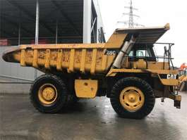 rigid dump truck Caterpillar 769C Rocktruck 1988