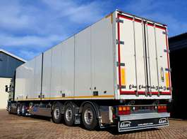 refrigerated semi trailer Ekeri Koel vries/ deuren 2012