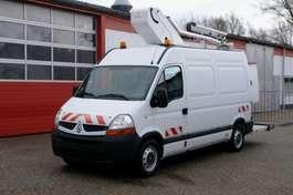 samochód dostawczy platforma Renault Master 120 Arbeitsbühne 12,5m Korb 200kg TÜV UVV
