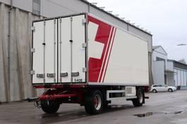 refrigerated semi trailer Krone AZ Durchladesystem Diesel Strom LBW 2010
