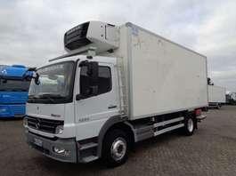 camion refrigerato Mercedes Benz Actros 1224 + Manual + Carrier Supra 850 Mt + ATP + ADR 2010