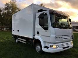 nákladní vozidlo s uzavřenou skříní DAF LF 45.160 Daf euro5  NU €16900 ex btw!! korte koffer 4m30! 2008