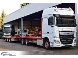car transporter truck DAF XF 106 - 510, Machine Transport, Euro 6, Retarder, Super Space Cab, Truc... 2014