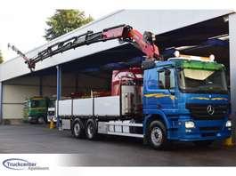 crane truck Mercedes Benz Actros 2555 V8, Palfinger PK 29002E + Jib, Euro 5, 6x2, Truckcenter Apel...