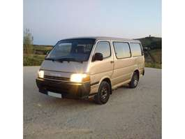 taxi bus Toyota Hiace H15 2.4 D 9 seats left hand drive. 1992