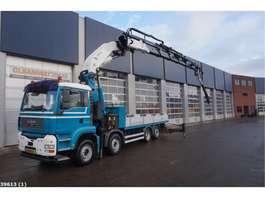camion grue MAN TGA 35.480 Effer 75 ton/meter laadkraan + JIB 2005