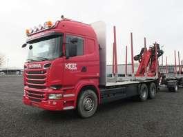 лесовоз Scania R520 6x4 Highline Palfinger Epsilon MT12 Holzzug 2014