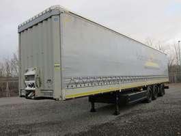 tilt trailer Krone SDP 27 Bordwand Staplerhalterung zwangsgelenkt 2014