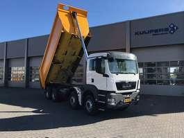 camion à benne basculante MAN TGS 41.480 / 8x4 / KIPPER / 27m / Kfz-Brief 2014