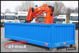 crane truck Mercedes Benz Container Elektro Kran Tirre 331 Funk, stationär, Offshore 2016
