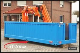 curtain slider swap body container Krone Container Elektro Kran Tirre 331 Funk, stationär, Offshore 2016