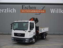 tipper truck MAN TGL 12.250 BB 2012