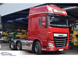 cab over engine DAF XF 106 - 510, Euro 6, Retarder, Super Space Cab, Standclima, 6x2, Truckc... 2015