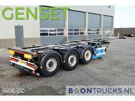 semirremolque de chasis contenedor D-TEC FLEXITRAILER + GENSET * 2676 hours * 2011