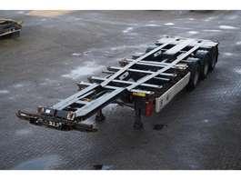 semirremolque de chasis contenedor Krone Container chassis 3-assig/20/2x20,30,45ft 2007