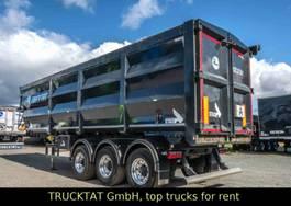 tipper semi trailer Stas HardoX Stahl 55 m³, MIETE ab 1.190,-€ 2018