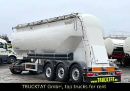 feed semi trailer Feldbinder EUT 40.3, 3-Kammer, mit Einzelausläufen, Rüttler 2006