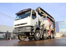 camion betoniera Renault KERAX 420 DCI+ LIEBHERR + TAPIS 2006