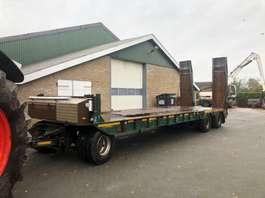 lowloader semi trailer Desot ADP/3SA/28 1991