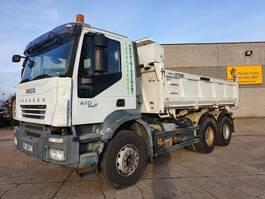 tipper truck > 7.5 t Iveco TRAKKER 410  6X4 2007