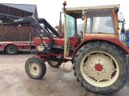 farm tractor International 744