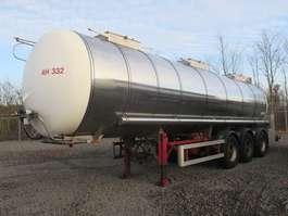 semirreboque cisterna Schrader Schrader Edelstahl isoliert 30.000 Liter Heizung 2005