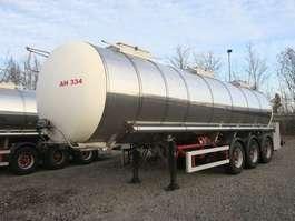 semi-remorque à citerne Schrader Schrader Edelstahl isoliert 30.000 Liter Heizung 2005