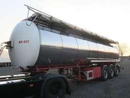 semirreboque cisterna Feldbinder Edelstahl isoliert 30.000 Liter Heizung 3 Kammern 2003