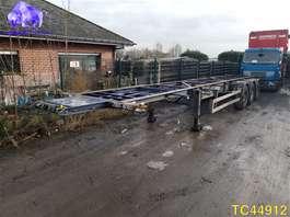 semirremolque de chasis contenedor Lag 40' - 45' Container Transport 2003