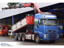 tipper truck Volvo FH 16 - 580, Hiab 377 EP5, 8x4, Truckcenter Apeldoorn 2008