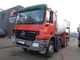 camion betoniera Mercedes Benz Actros 3236 8x4 + belt/tapis pumi 2008
