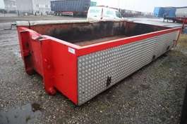 Containerfahrgestell Auflieger Asfalt kasse 2019