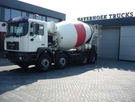 camion betoniera MAN FE 35-360  8x4 Concrete mixer 9000 Liter 2003