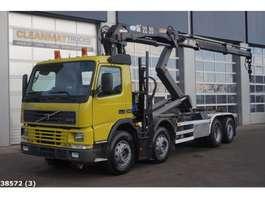 samochód do przewozu kontenerów Volvo FM 12.340 HMF 22 ton/meter laadkraan 2002