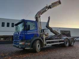 samochód do przewozu kontenerów Scania 114C 340 6x4 2000