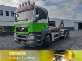 samochód do przewozu kontenerów MAN TGS 26.360 Containersysteem 2010
