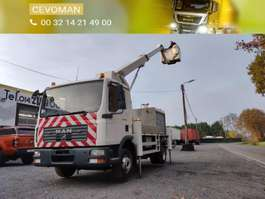 zvedák na vozidle MAN TGL 12.180 Hoogwerker Palfinger Bison TKA17 2006