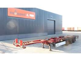 Containerfahrgestell Auflieger Schmitz Cargobull 40FT HC, SAF+DISC, Liftaxle, empty-weight 5.400kg, extendable at the rea... 2009