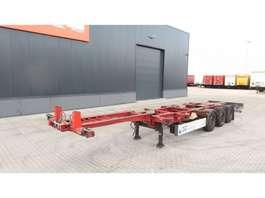 Containerfahrgestell Auflieger Schmitz Cargobull 40FT HC, SAF+Scheibebremsen, Liftachse, Leergewicht 5.400kg, hinten-ausz... 2009