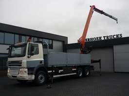 crane truck DAF CF 85 410 6x4 Montagekraan PK 25001EL 2008